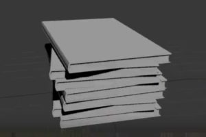 Model a Stack of Realistic Books in 3ds Max