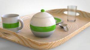 Modeling a Breakfast Set in Maya and Keyshot