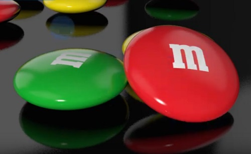Modeling a M&M'S Chocolate Candy in Cinema 4D