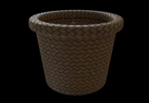 Modeling a Palm Leaf Basket in Autodesk 3ds Max