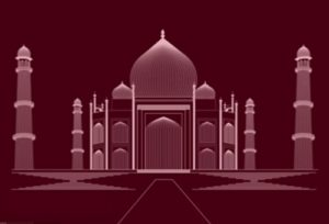 Draw the Taj Mahal using the Blend Tool in Adobe Illustrator