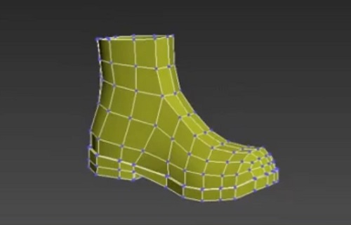 Modelling a Simpla Boots in Autodesk 3ds Max