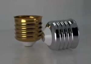 Modeling a Light Bulb Screw in Autodesk 3ds Max