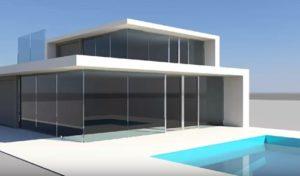 Modeling a Modern Villa 3D in Autodesk Maya
