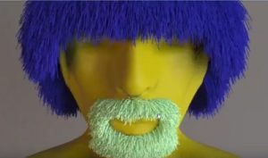 Make Realistic Beard for a 3D Character in 3ds Max