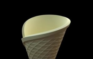 Modeling Ice Cream Cone in Autodesk 3ds Max