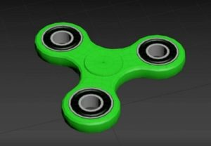 Modeling a Fidget Spinner Toy in Autodesk 3ds Max