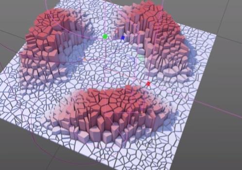 Create Sliced Falloffs Effect in Maxon Cinema 4D