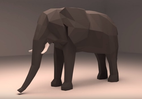 Modeling any Low Poly Animal in Blender