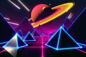 Create Retro Space Scene in Cinema 4D and After Effect