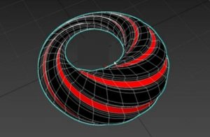 Create Dupin Cyclide Torus in 3ds Max 2019