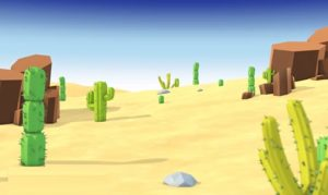 Model & Animate a Cartoon Style Cactus Desert Scene in Cinema 4D