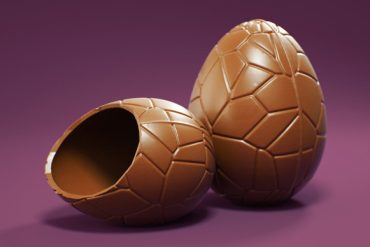 Modeling a Chocolate Easter Egg in Cinema 4D