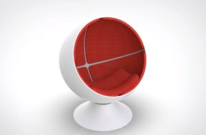 Modeling a Ball Chair in 3D with Autodesk Maya