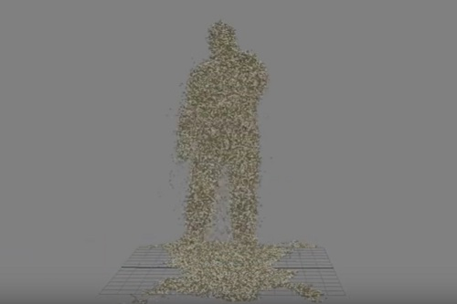Create Sand Man Effect with TyFlow in Autodesk 3ds Max