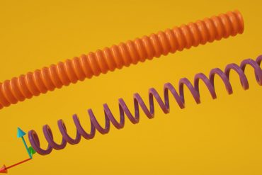 Rigging a Telephone Cable in Maxon Cinema 4D