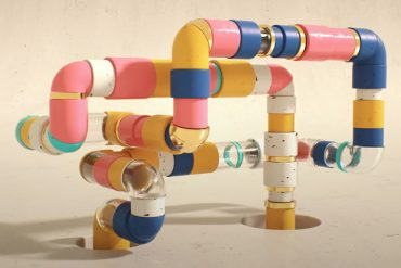 Looping Animated Pipes in Maxon Cinema 4D