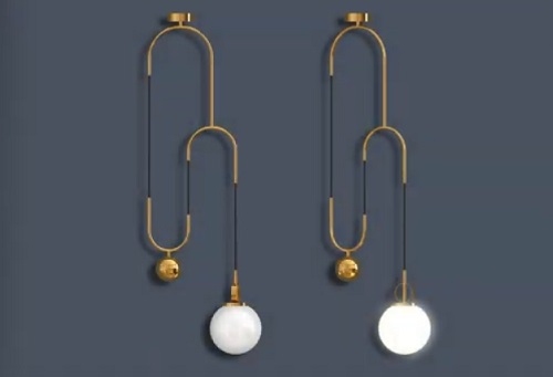 Modeling a Ceiling Lamp in Autodesk 3ds Max