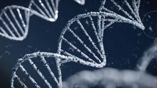 Modeling an Abstract DNA in Blender 2.8