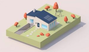 Modeling a Simple Cute House in Cinema 4D