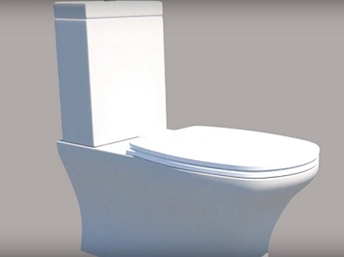 Modeling a Simple Toilet Seat in Autodesk 3ds Max