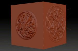 Create and use Alphas for Object detail in ZBrush