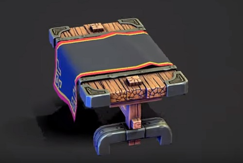 Modeling a Stylized Ancient Table in Maya, ZBrush and Painter