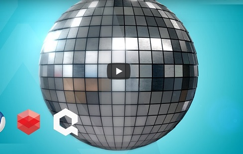 Modeling a Realistic Disco Ball in Cinema 4D