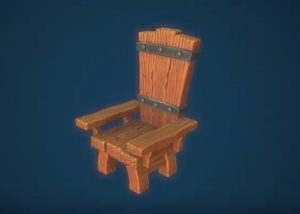 Modeling a Stylized Wooden Throne in 3ds Max, ZBrush and Painter