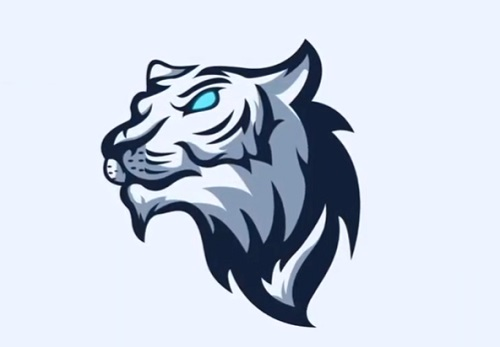 Draw a White Tiger Mascot Logo in Adobe Illustrator