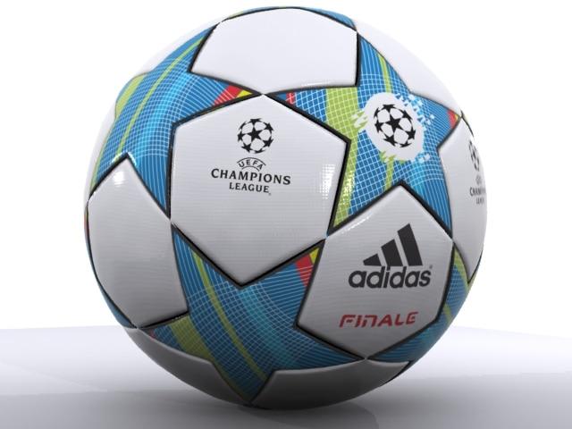 Adidas Finale Soccer Ball 3D
