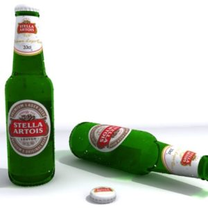 Beer Bottle 3D