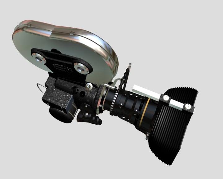 Cine-Camera 3D