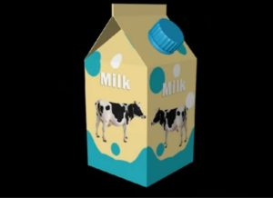 Milk Packaging C4D
