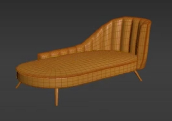 Armchair 3ds Max